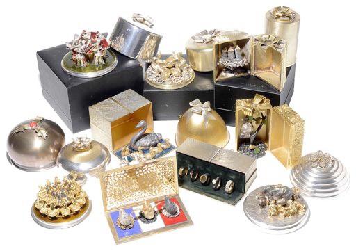 Suart Devlin silver collection