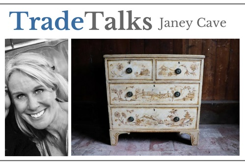 Janey Cave in Antiques Trade Talks