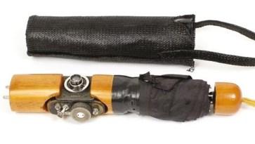 Spy Gadgets - a Soviet umbrella camera