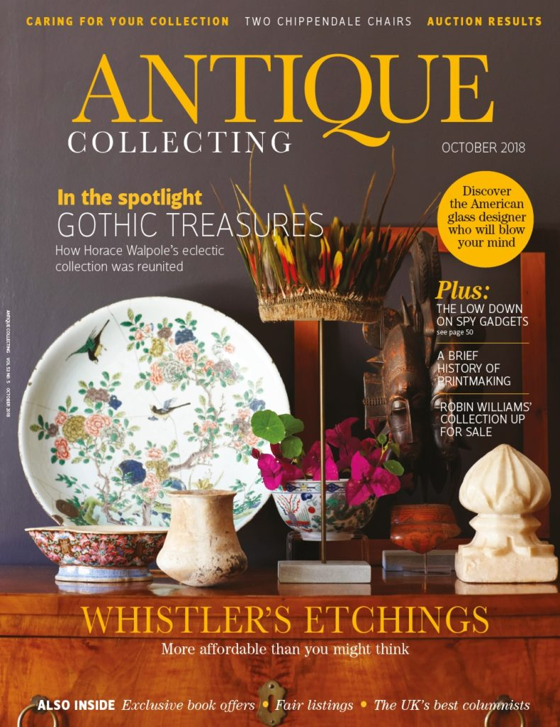 Antique Collecting magazine October 2018 front cover