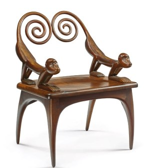 A chair from the Robin Williams collection