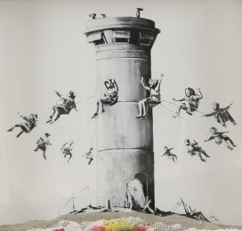 A work by Banksy
