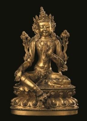Christie's Asian Art sale includes this figure of Avalokiteshvara
