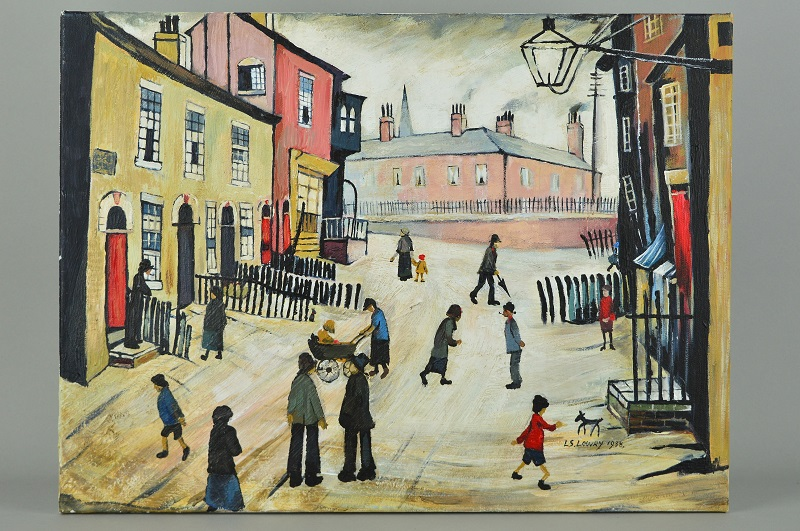 John Anderson fake of LS Lowry