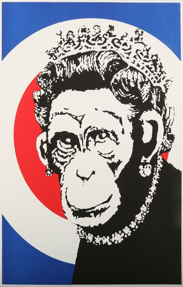 Banksy - Monkey Queen