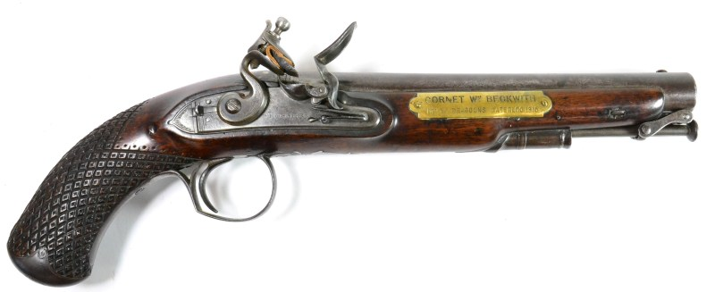 Beckwith's Pistol in Tennants sale