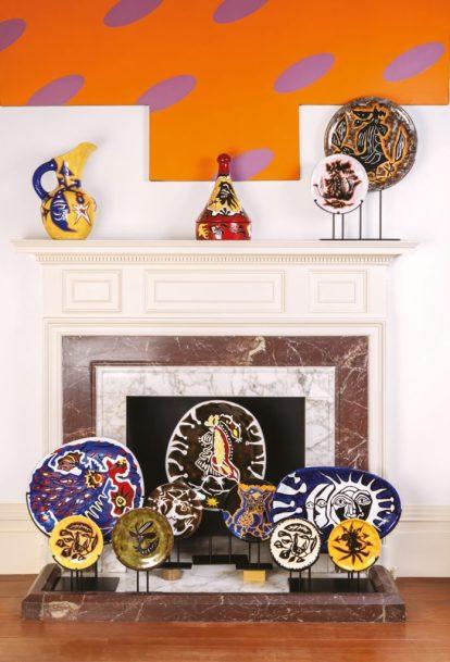 Jean Lurçat's ceramics