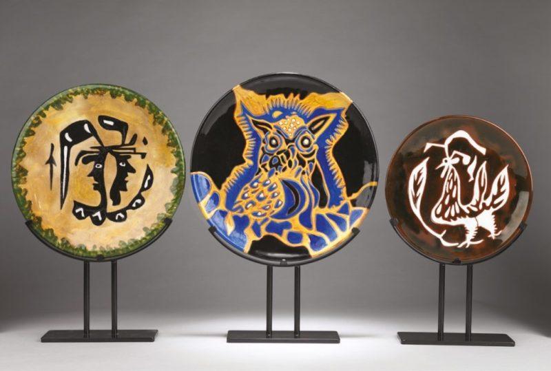 Ceramics by Jean Lurçat