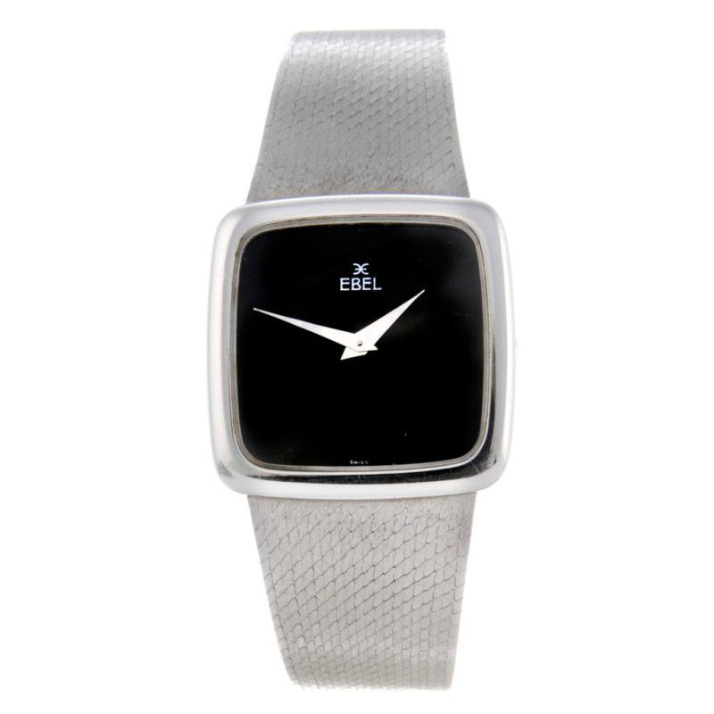 Stuart Devlin's gentleman's 18ct white gold watch by Ebel