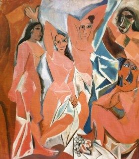 Pablo Picasso, Les Demoiselles d'Avignon,1907,