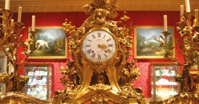 Antique clock from France