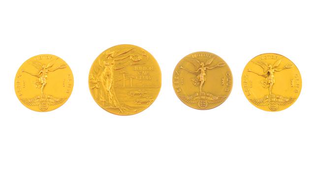 Collection Brooklands racing medals