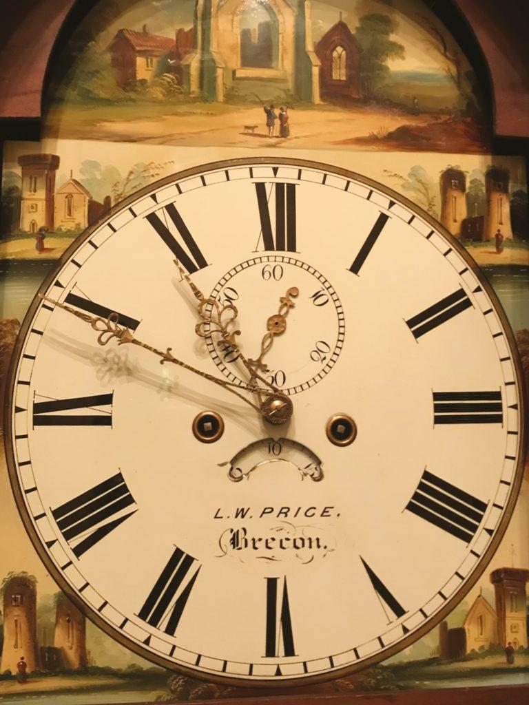 Antique long case clock