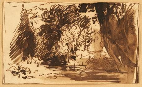 John Constable sketch