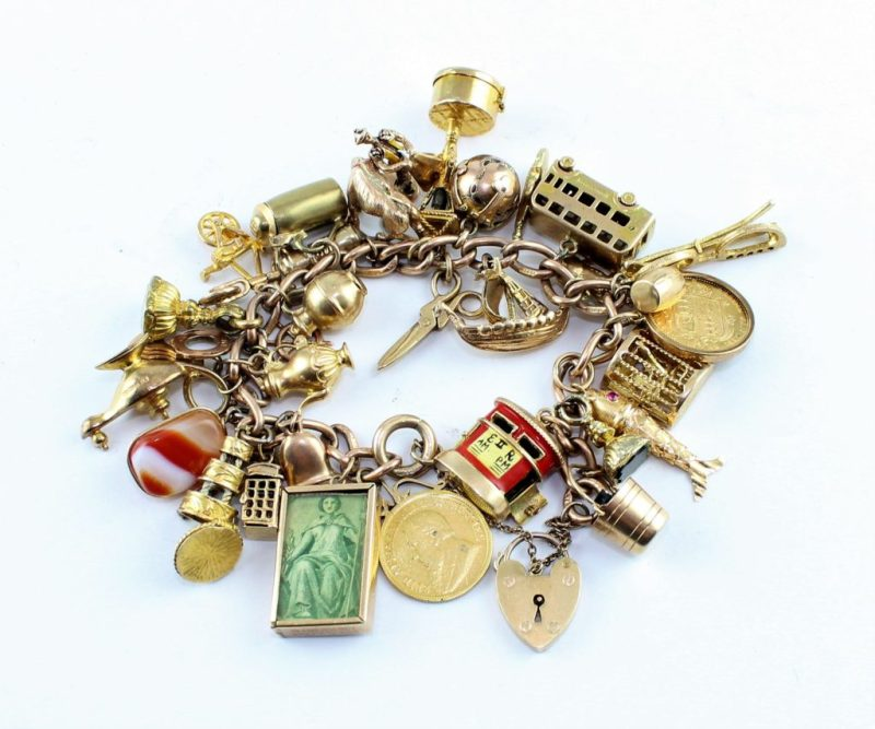 Pauline Moore's bracelet that she wore during Lakonia disaster