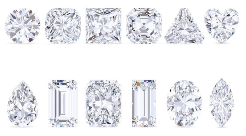 Diamonds and their different types of cut