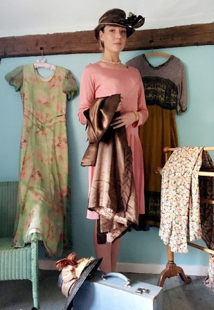 Vintage fashion in the Surrey sale