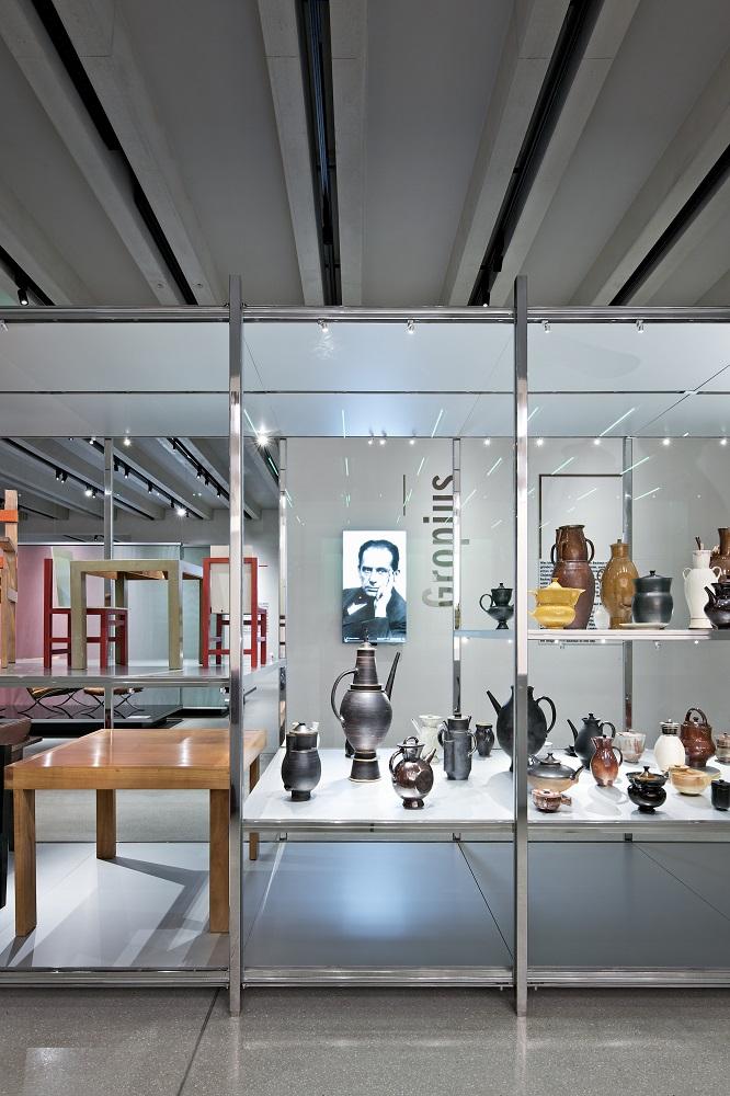 Gropius area at Bauhaus museum