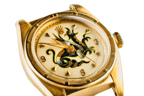 The Dragon Dial Rolex watch in London sale