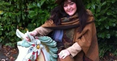 Antiques dealer Karen Dalmeny