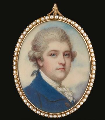 Miniature portrait painter Richard Cosway