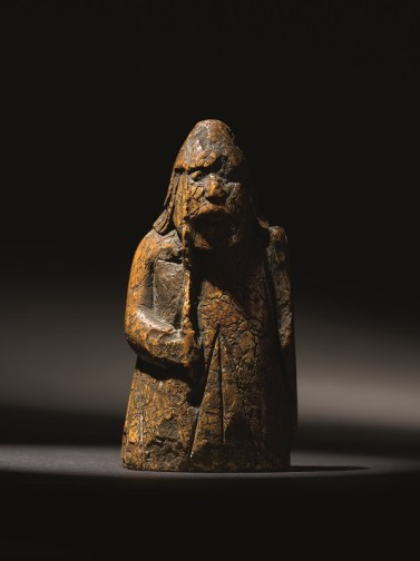 A Lewis Chessman - the Warder