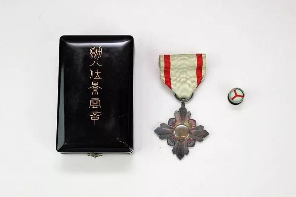 個人に授与された勲章ですが、鑑定後の買取りは可能?