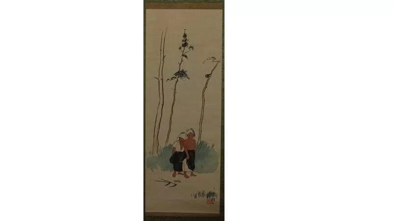 小川芋銭の日本画