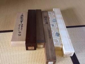 久保田米僊・一休和尚筆の書など6本