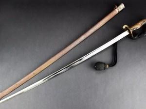 旧日本軍陸軍士官用指揮刀