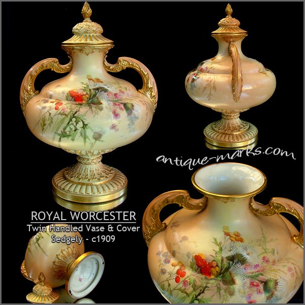 Royal England Made Worcester