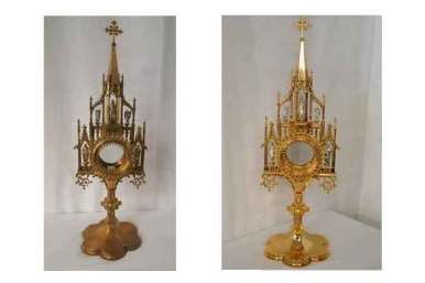 monstrance restoration long beach ca