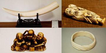 画像:象牙製品
