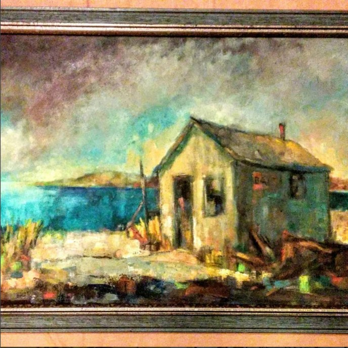 Massachusetts bay scene