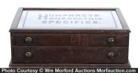 Antique Advertising | Humphreys' Homeopathic Specifics ...
