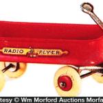 Radio Flyer Wagon Miniature Toy Antique Advertising