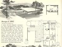 Vintage House Plans 1092
