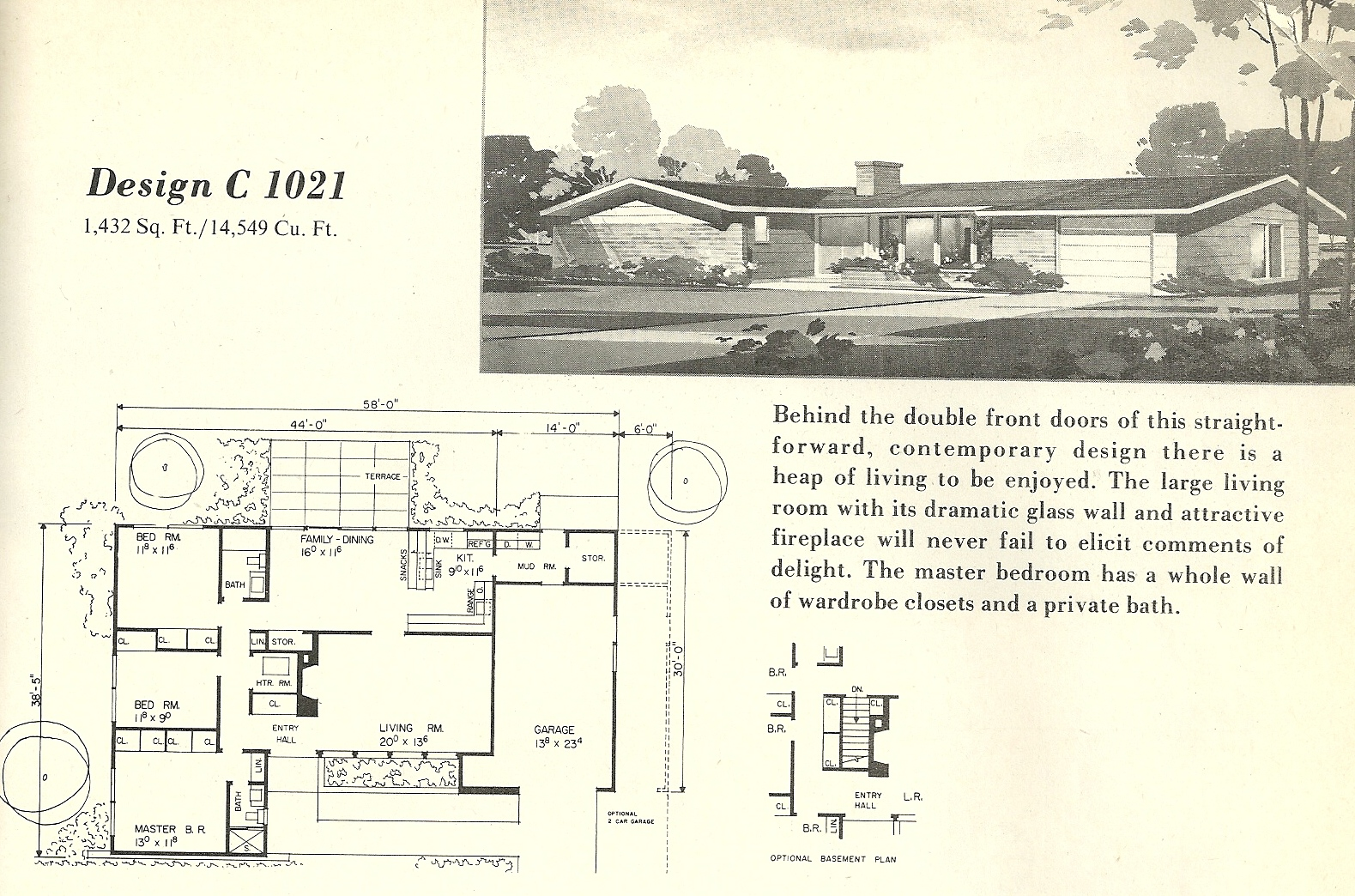 Vintage House Plans 1021
