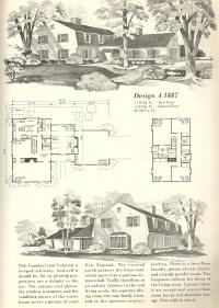Vintage Home Plans Gambrel 1887