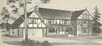 Vintage House Plans 1970s: English Style Tudor Homes ...