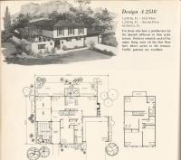Vintage Home Plans Old West 2518