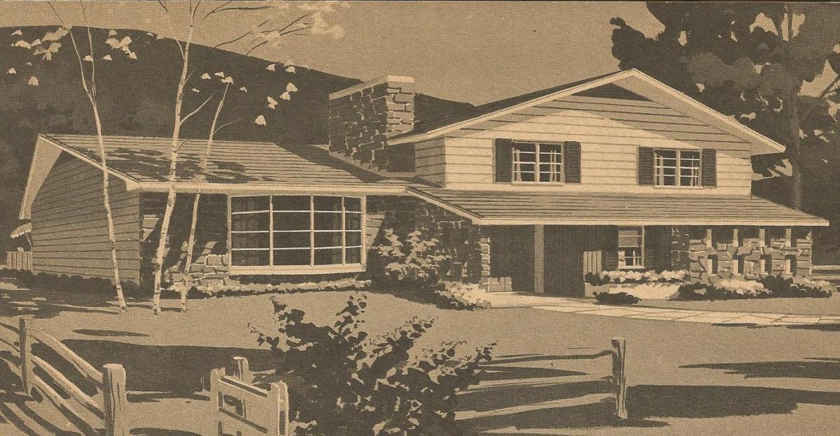Vintage House Plans Ranches And Split Levels