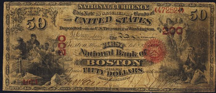 Five thousand dollar bill