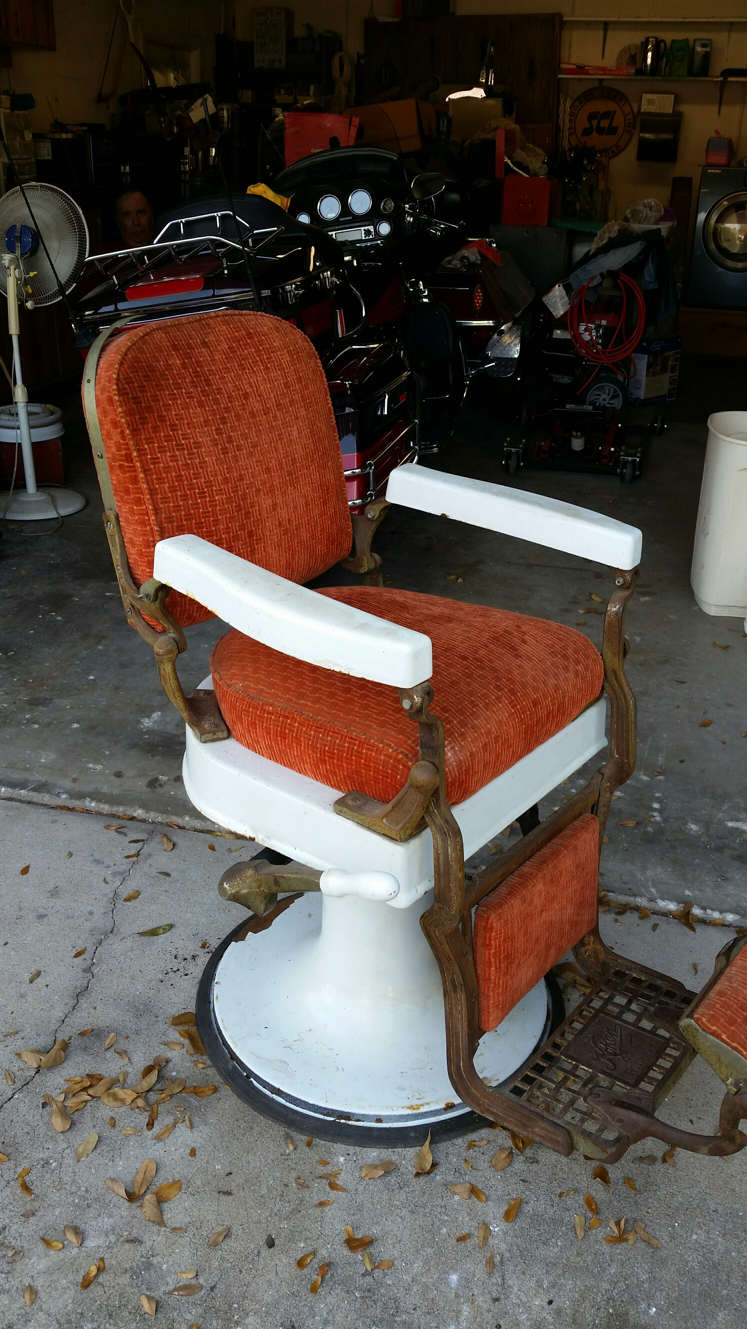 Old Barber Chairs Antique Barber Chair