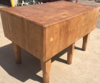 "Baltimore, Maryland Butcher Block - 48 1/2"" x 30"" x 14 1/2 ..."