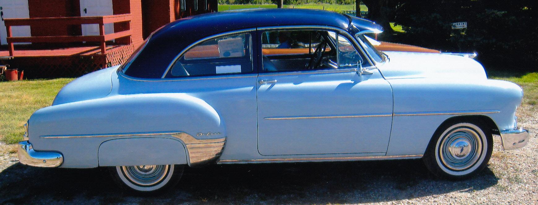 hight resolution of 1952 chevrolet 2 door sedan new