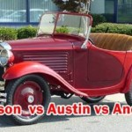 Compare Classic Cars - Apperson Austin Anderson : Include information of Engine,Cylinders,Bore & Stroke , Breaks,Model and etc.