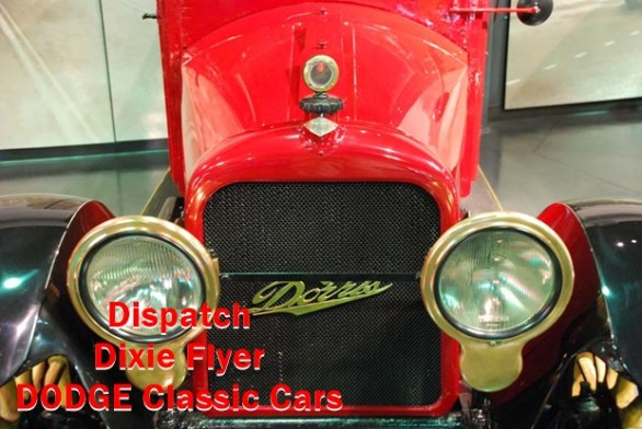 Dispatch vs Dixie Flyer vs DODGE Classic Cars Here are the type of infomation about spare parts,Model,Year,Serial numbers,Cylinders,Battery & etc.