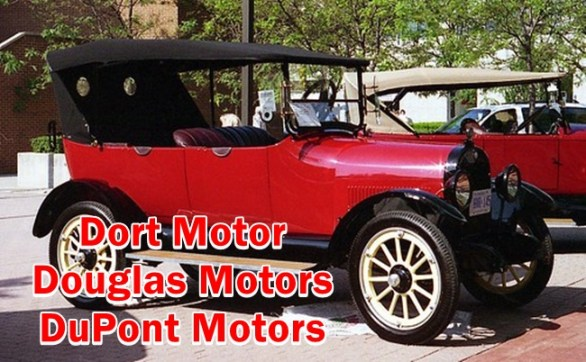 Classic cars informations of Dort motor cars, Douglas motor cars and Du Pont motor cars - Model,Spare part details,Engine,and etc.