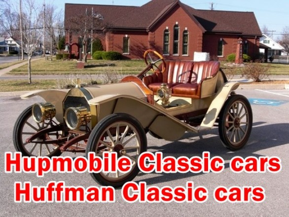 Old Muscle Cars Hupmobile & Huffman